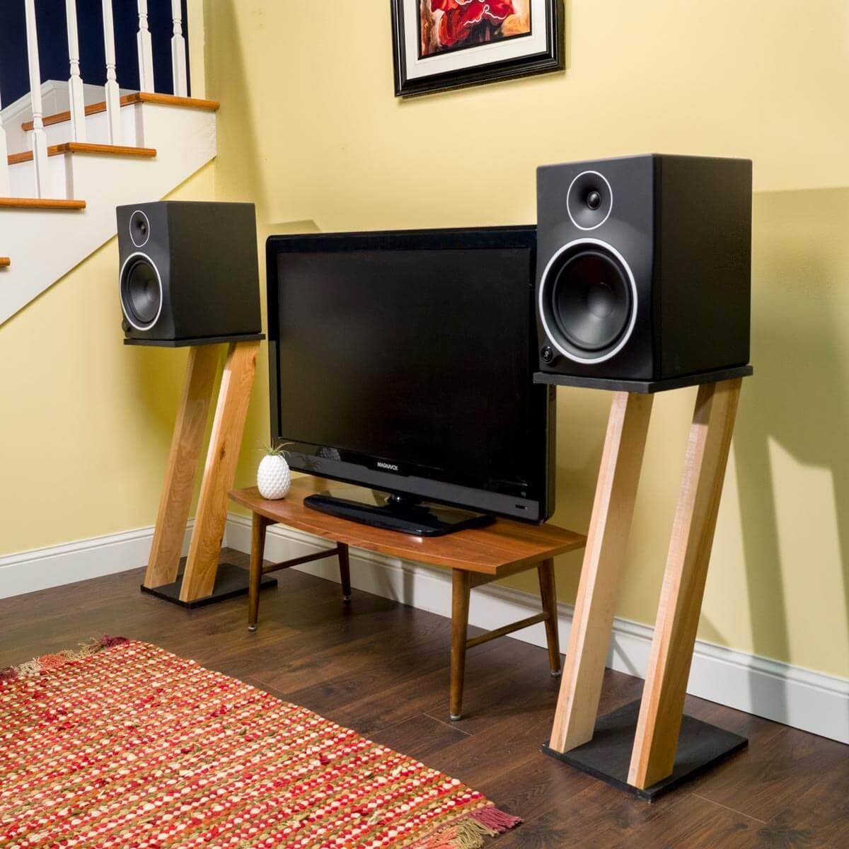Saturday Morning Workshop How To Build Speaker Stands