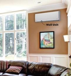 mini split living room wall unit [ 1200 x 1200 Pixel ]