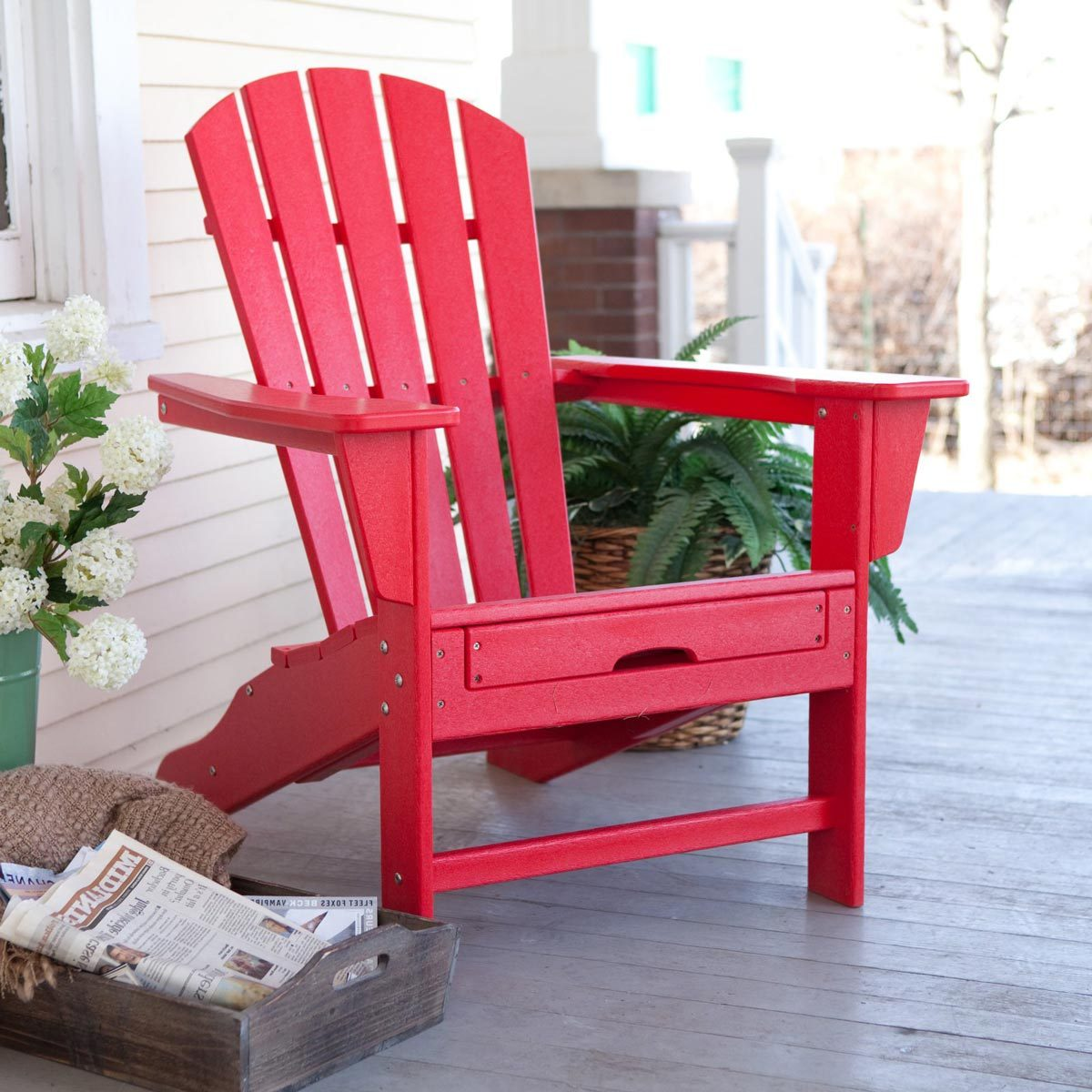 red adirondack chairs lightweight outdoor folding 15 you have to see believe family