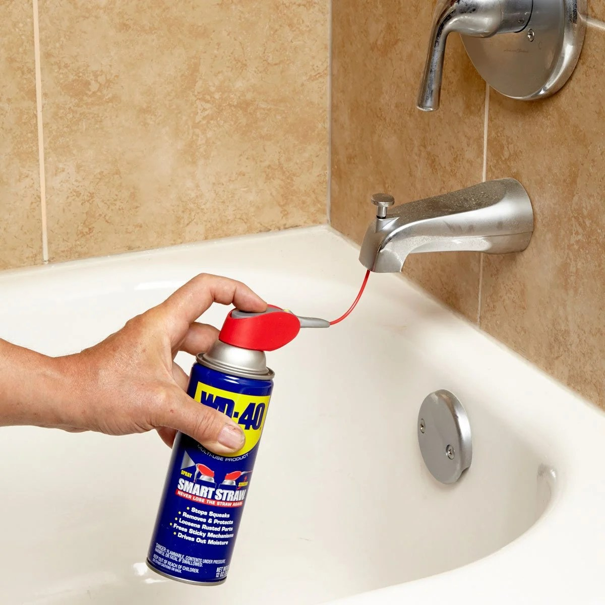 Wd40 On Wood Cabinets