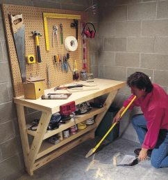 14 super simple workbenches you can build [ 1200 x 1200 Pixel ]