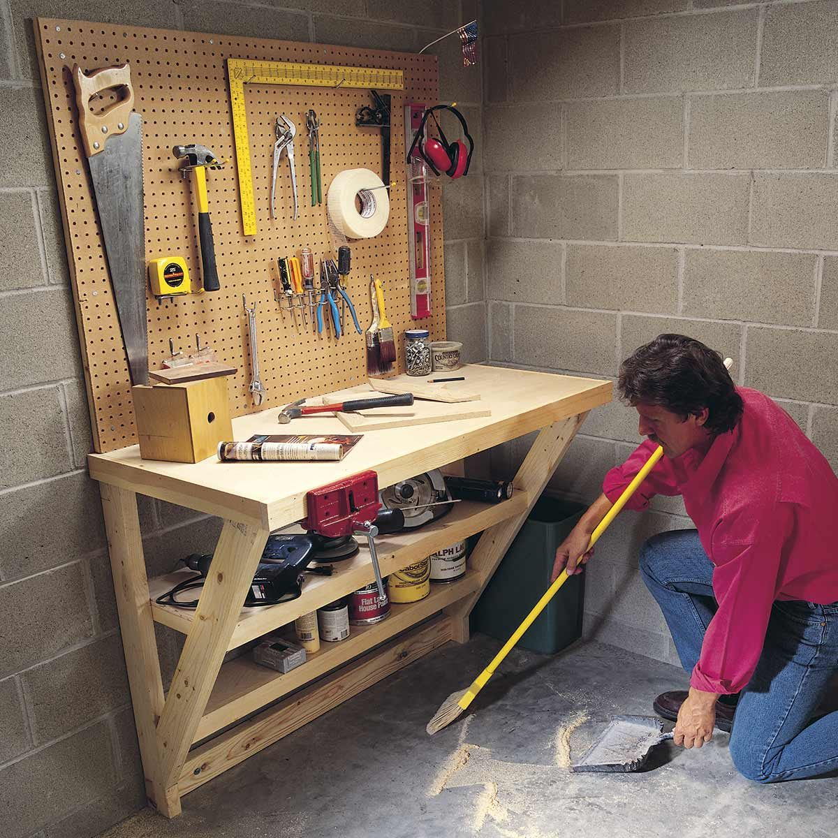 hight resolution of 14 super simple workbenches you can build