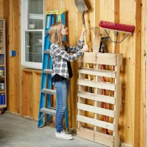 Garage Pallet Organization Hack Family Handyman
