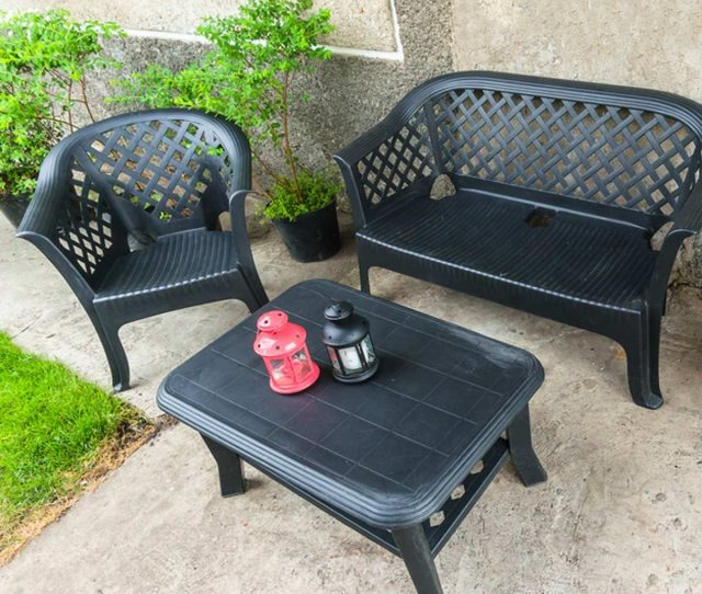 Cheap Plastic Patio Furniture Iglenas Shutterstock