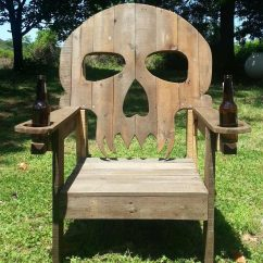 Skull Adirondack Chair Plans White Wingback 15 Chairs You Have To See Believe Family