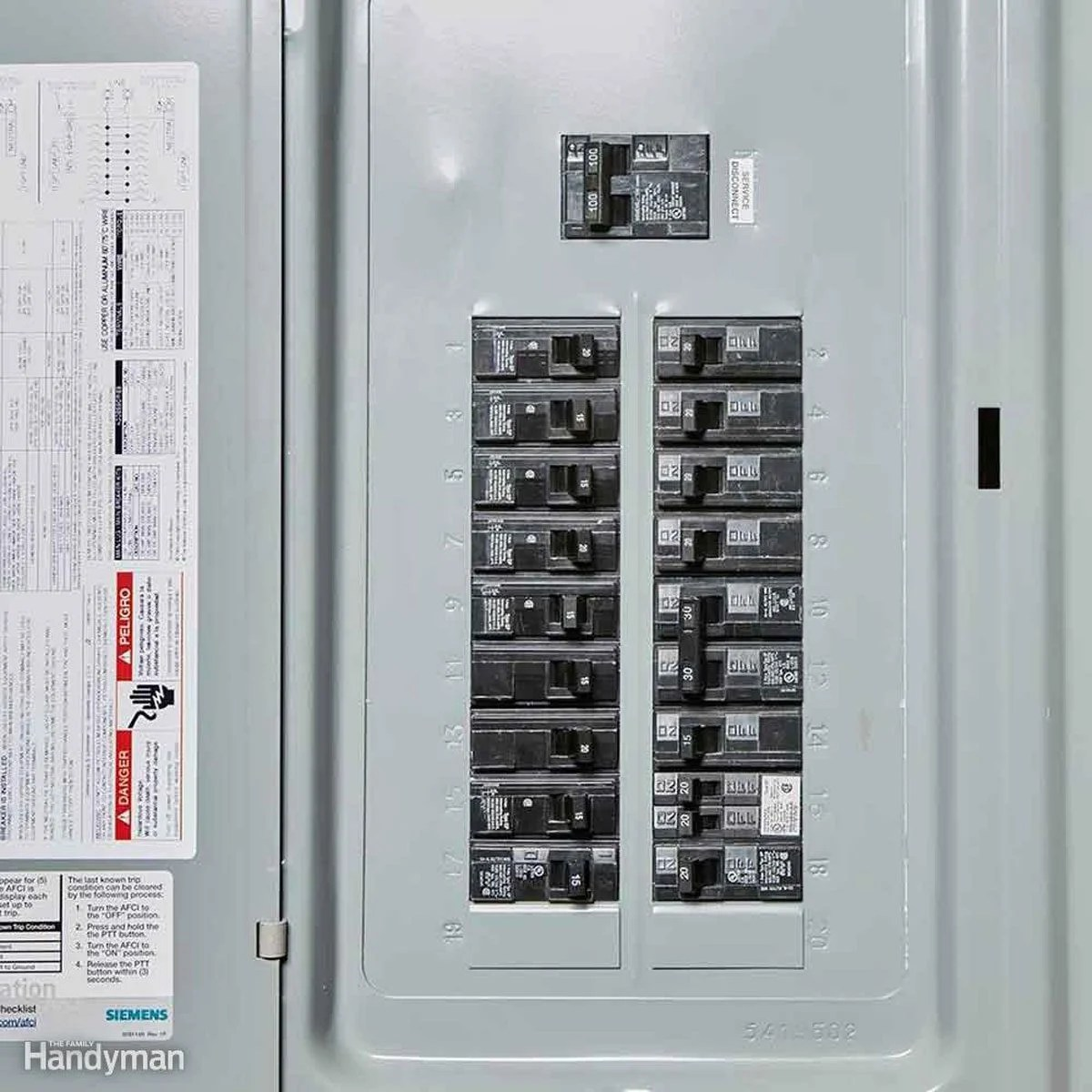 hight resolution of electrical panel