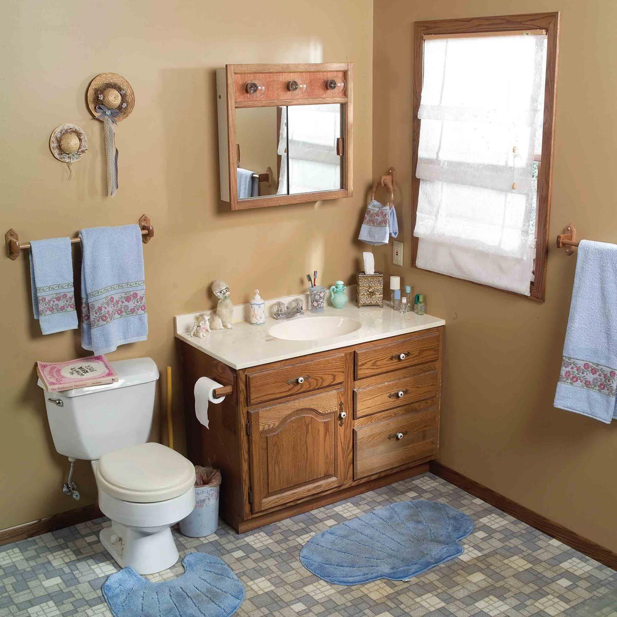 7 Before And After Bathroom Makeovers You Can Do In A Weekend