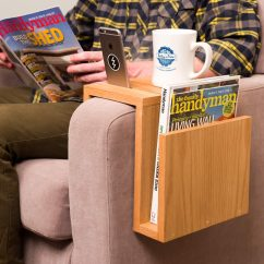 Sofa Arm Lazy Boy Maverick Reviews Saturday Morning Workshop How To Build A Tray Table The