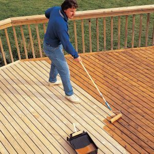 How Long Does It Take For Wood Stain To Dry On A Deck