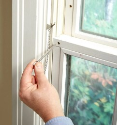 how to secure windows with simple window locks the latches on most double hung  [ 1200 x 1200 Pixel ]