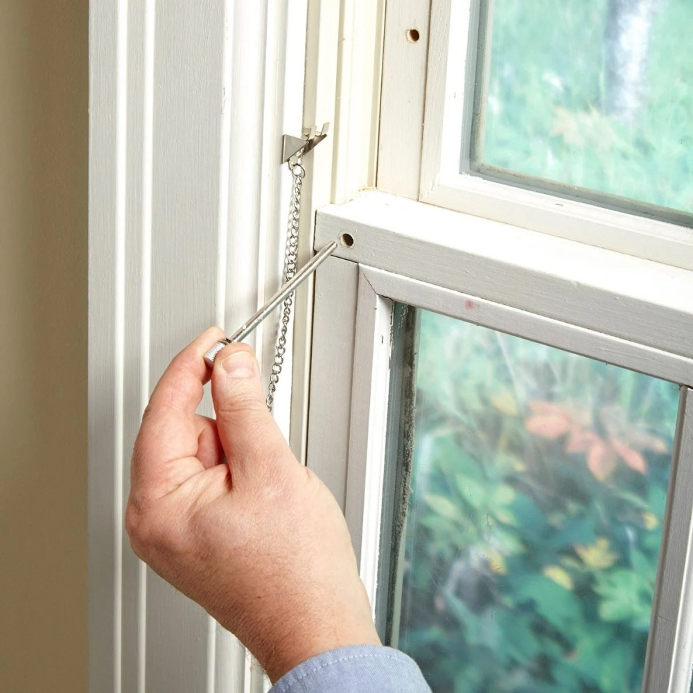 medium resolution of how to secure windows with simple window locks the latches on most double hung