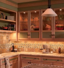 how to install under cabinet lighting in your kitchen wiring kitchen island lights add dramatic under [ 1200 x 1200 Pixel ]