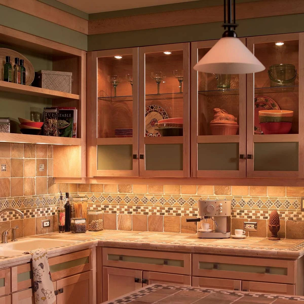 hight resolution of add dramatic under cabinet lighting in a weekend without tearing up your walls to install the wiring