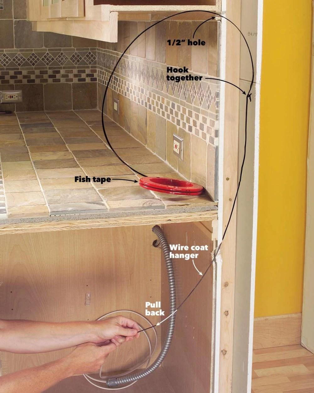 medium resolution of under cabinet wires