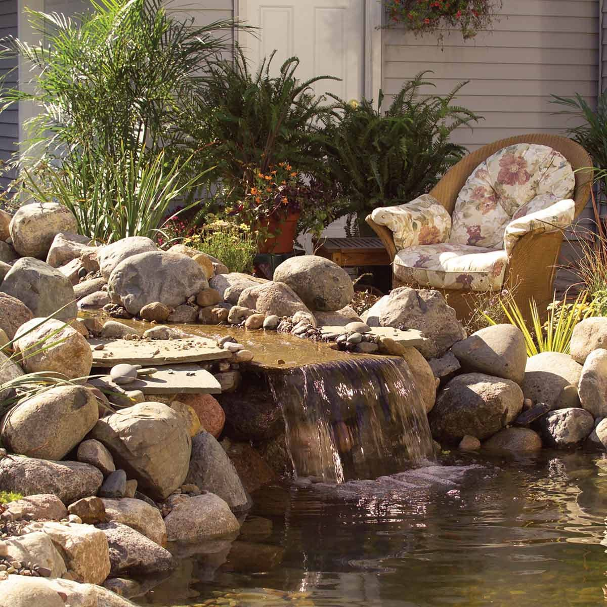 hight resolution of how to make a backyard fish pond