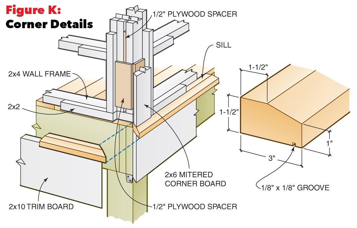 hight resolution of screen porch corner details