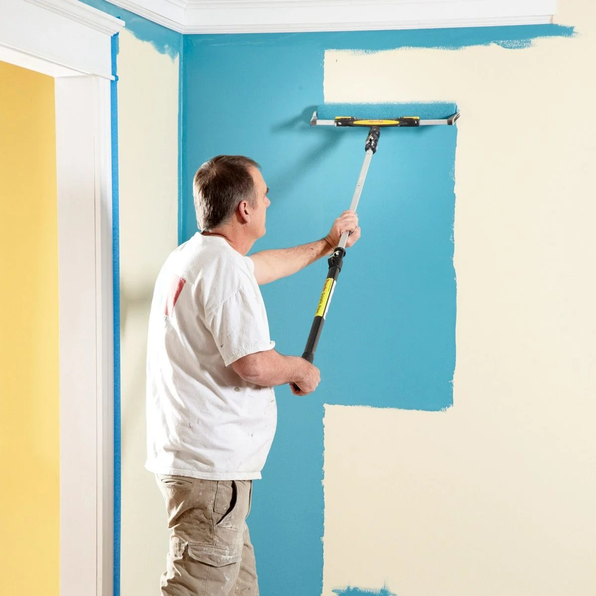 Cutting In Ceiling Painting Tips
