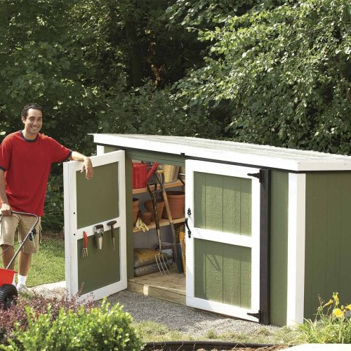 small resolution of garden tool and lawn mower shed