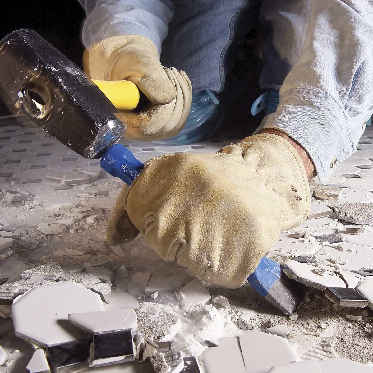 How To Get Vinyl Flooring Up Off Concrete
