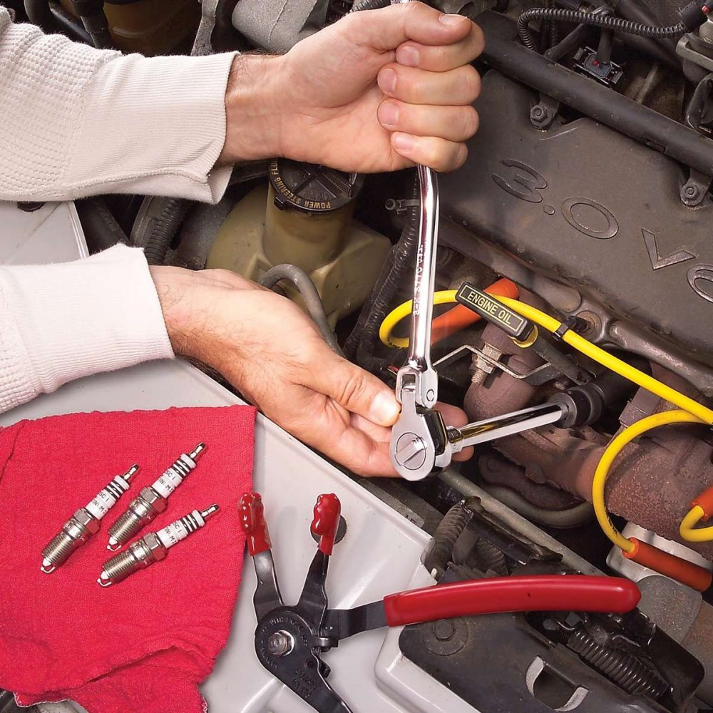 medium resolution of change spark plugs