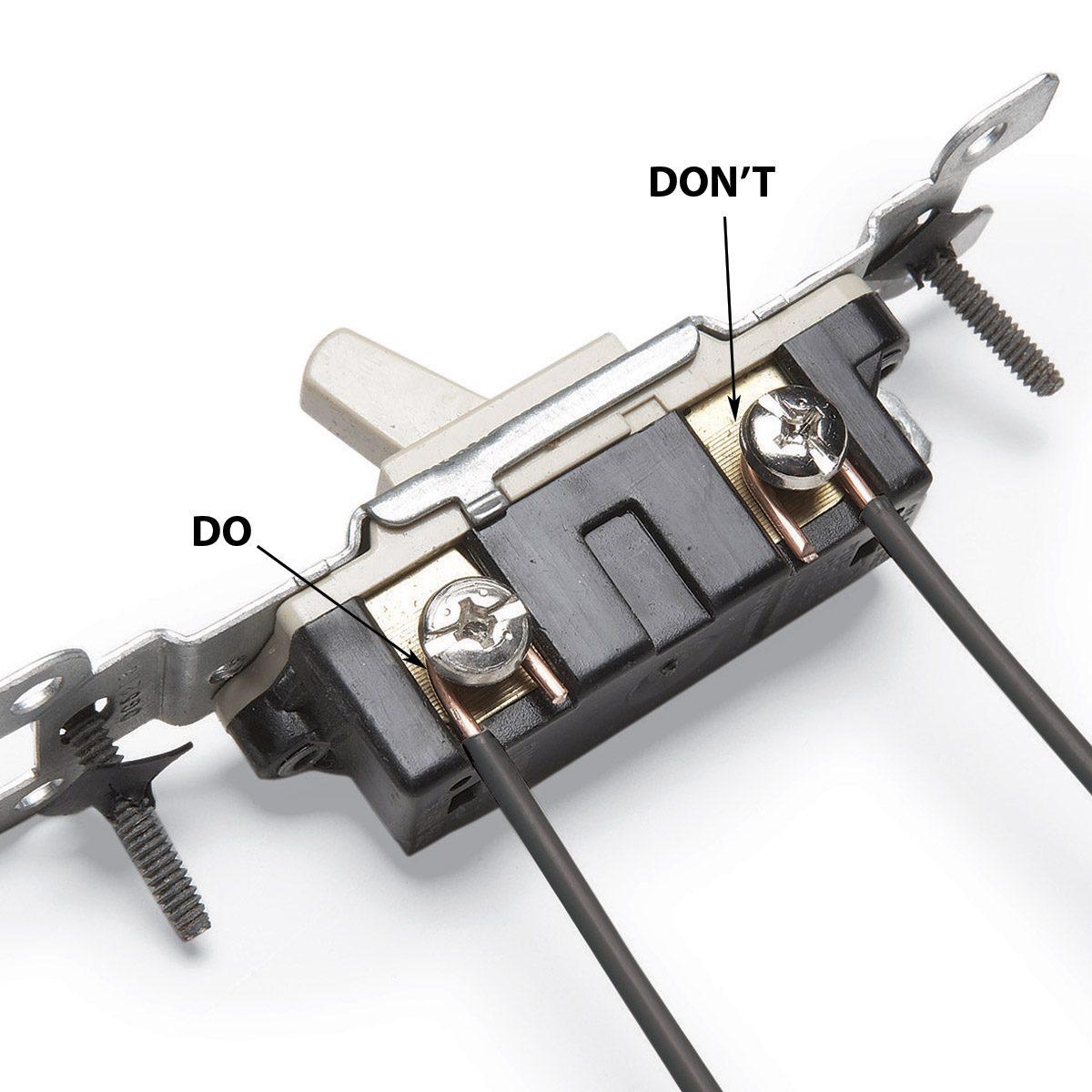 hight resolution of wrap wires clockwise around terminal screws