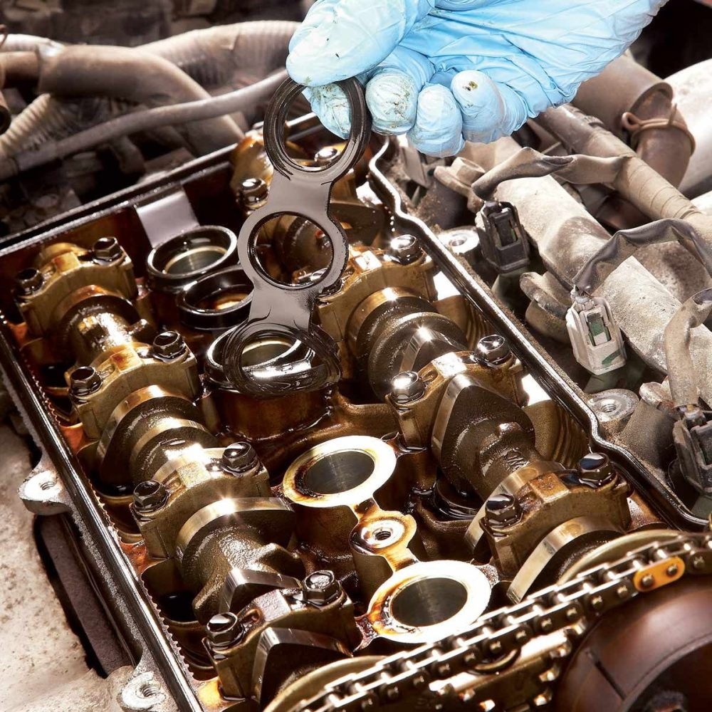 medium resolution of when my dad and i were changing the spark plugs on my saturn we noticed oil leaking around them my dad said it was from a leaky valve cover gasket