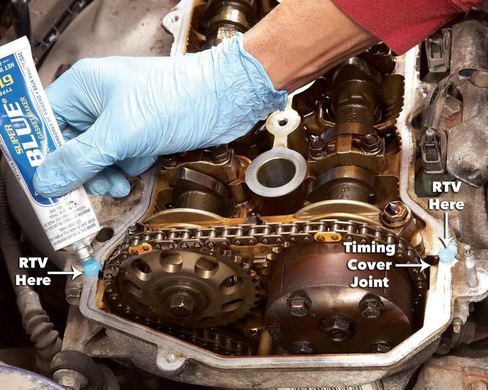 medium resolution of install new gasket valve cover