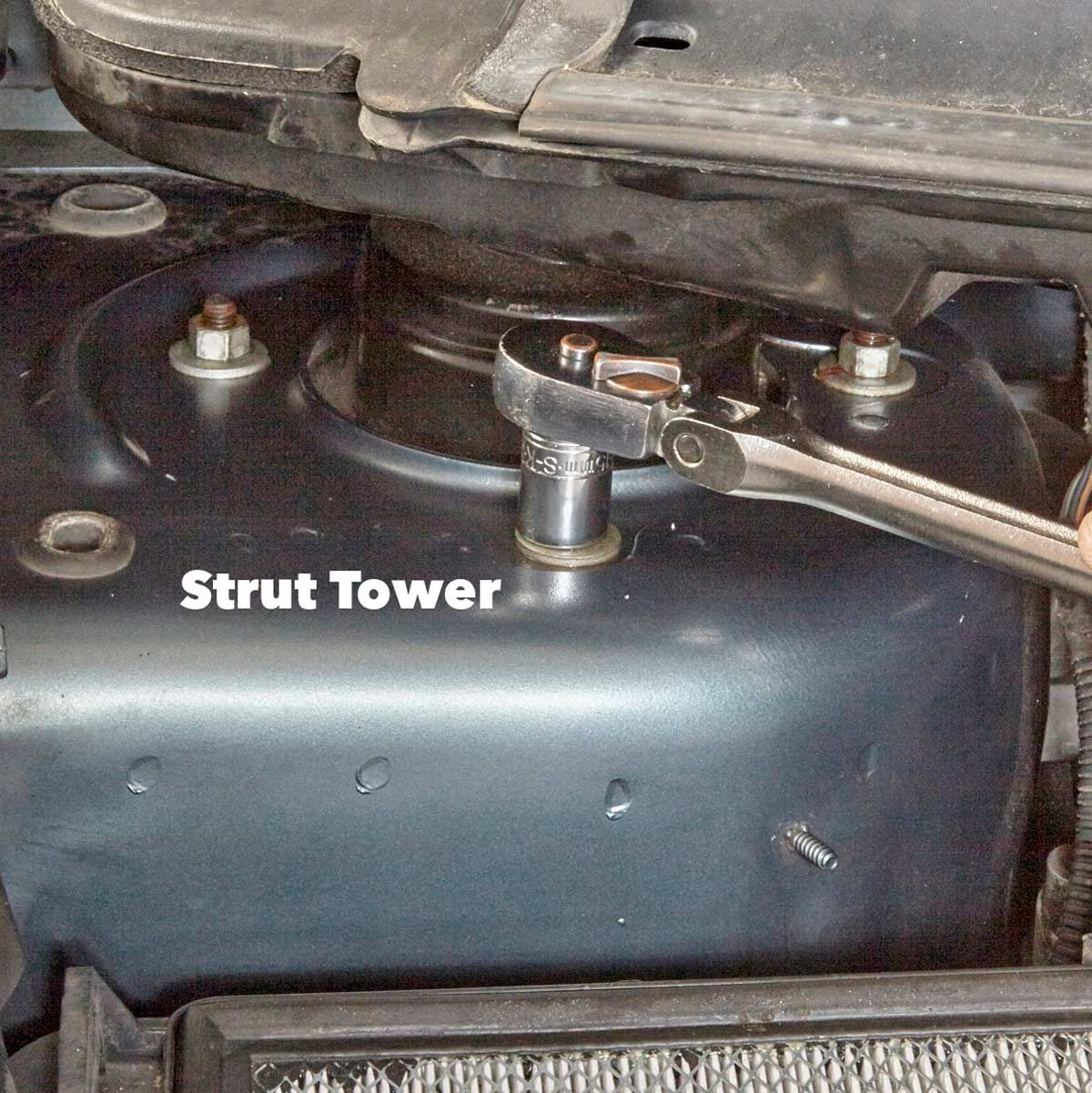 hight resolution of remove the strut mount nuts