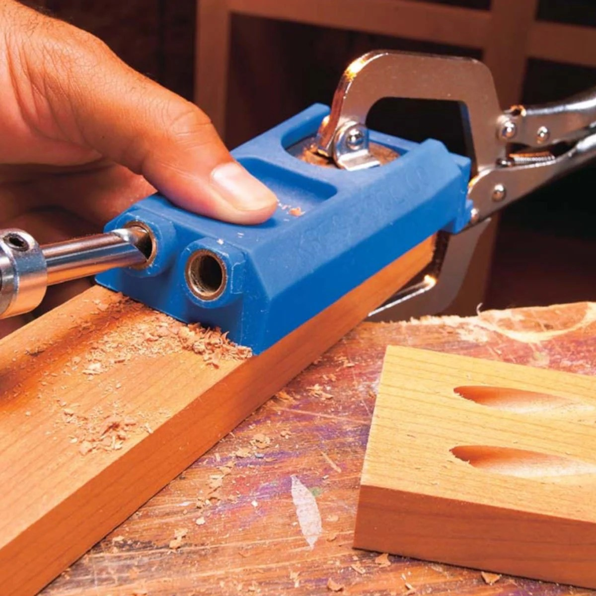 How To Drill Angled Holes For Chair Legs