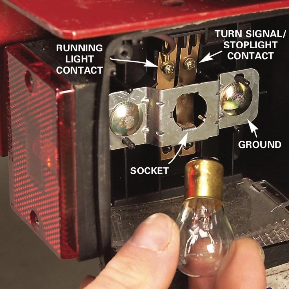medium resolution of here s 9 trailer wiring fixes family handyman test trailer lights wiring harness bulb