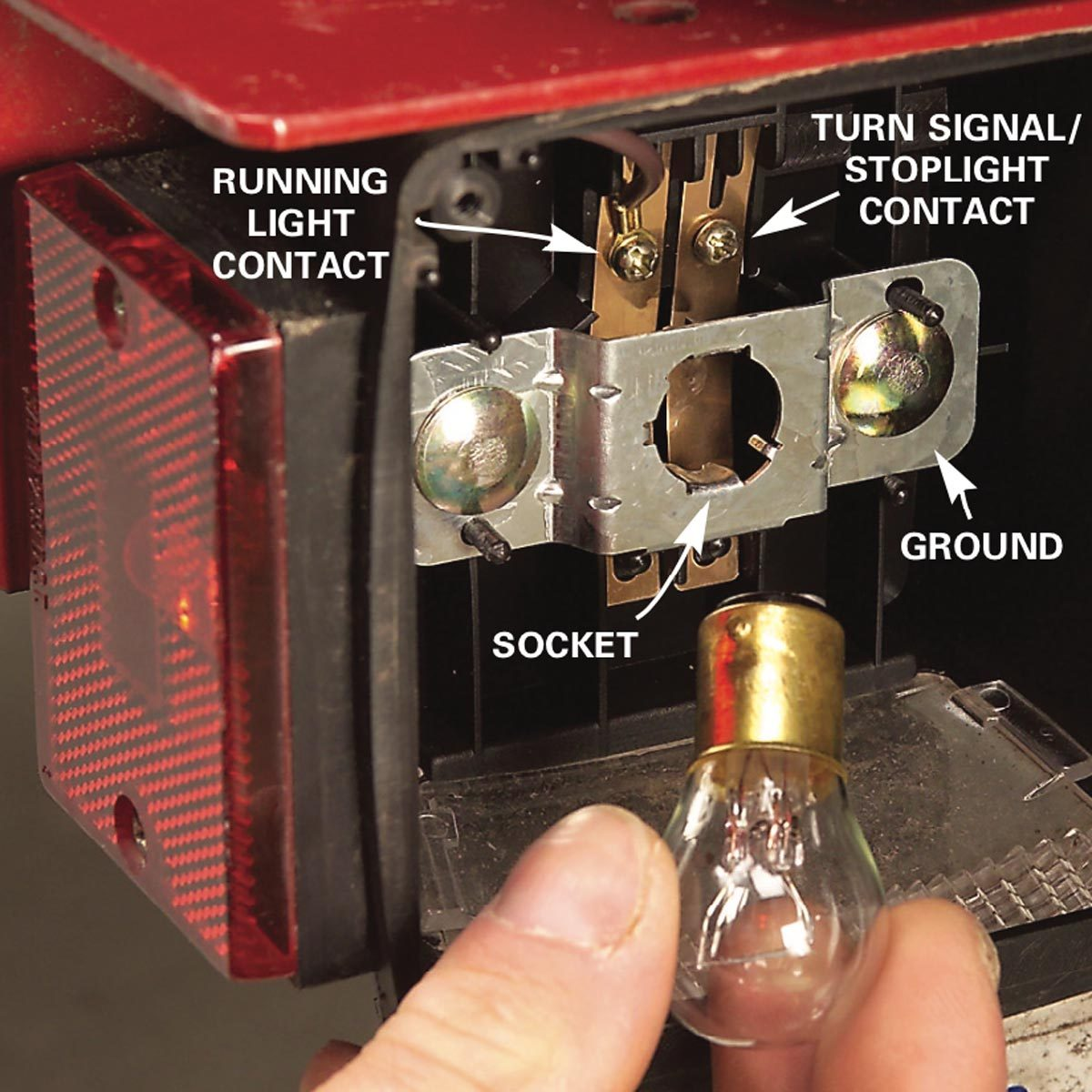 hight resolution of here s 9 trailer wiring fixes family handyman test trailer lights wiring harness bulb