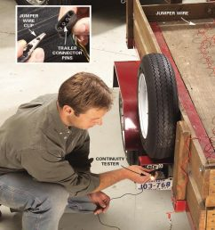 test family handyman check the trailer wiring  [ 1200 x 1200 Pixel ]