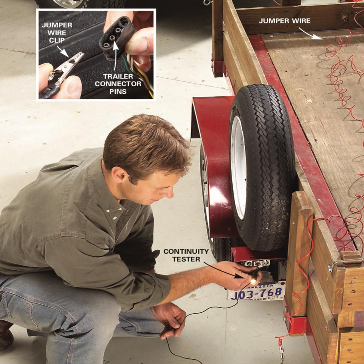 hight resolution of test family handyman check the trailer wiring