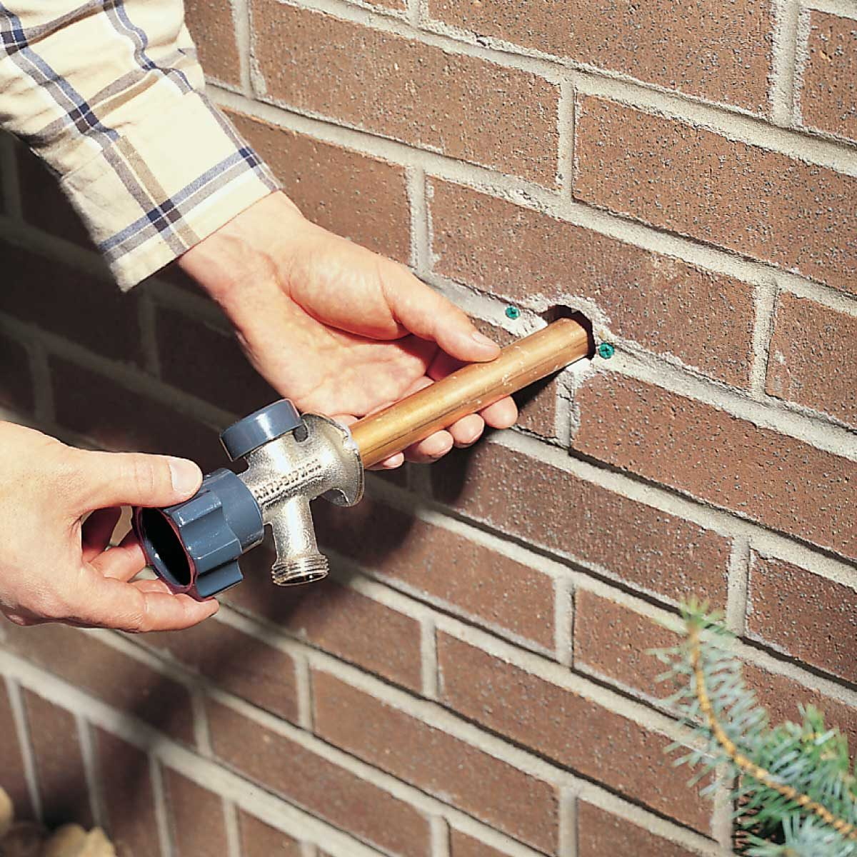 For Floor Furnace Wiring Diagram How To Install A Frost Proof Outdoor Faucet The Family