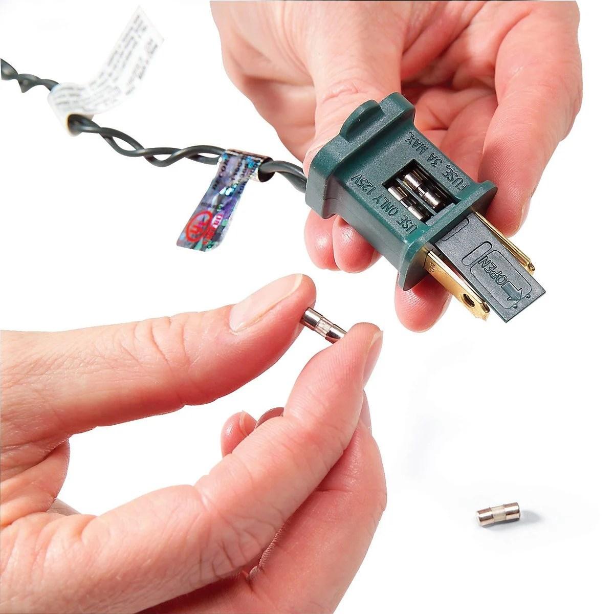 miniature christmas lights wiring diagram 2005 honda accord fuse box how to fix the family handyman light