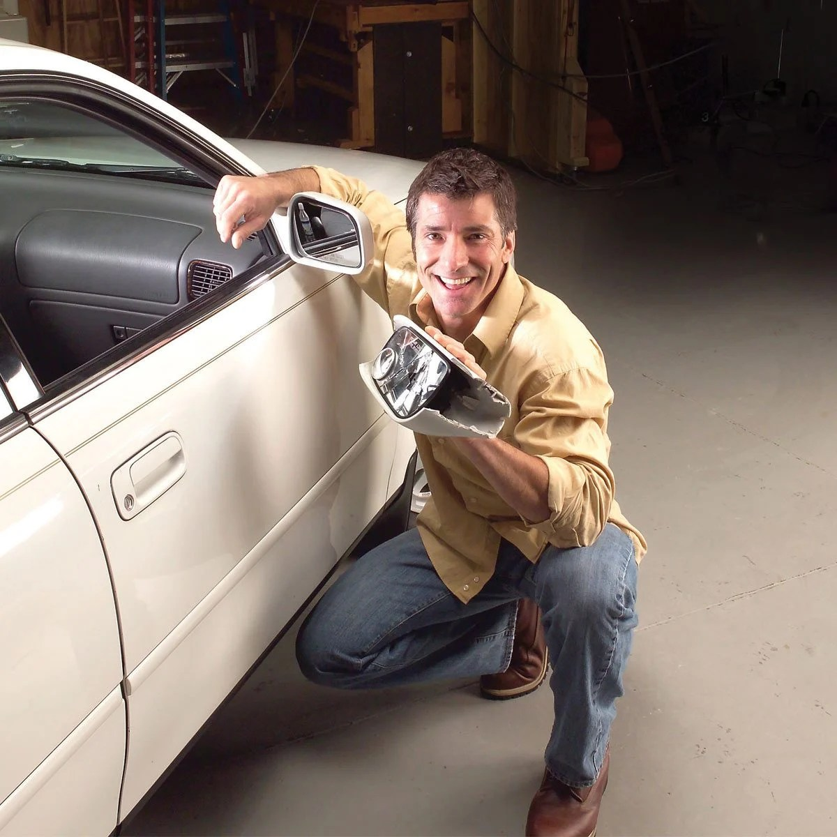 hight resolution of replace your side view mirror yourself and save money