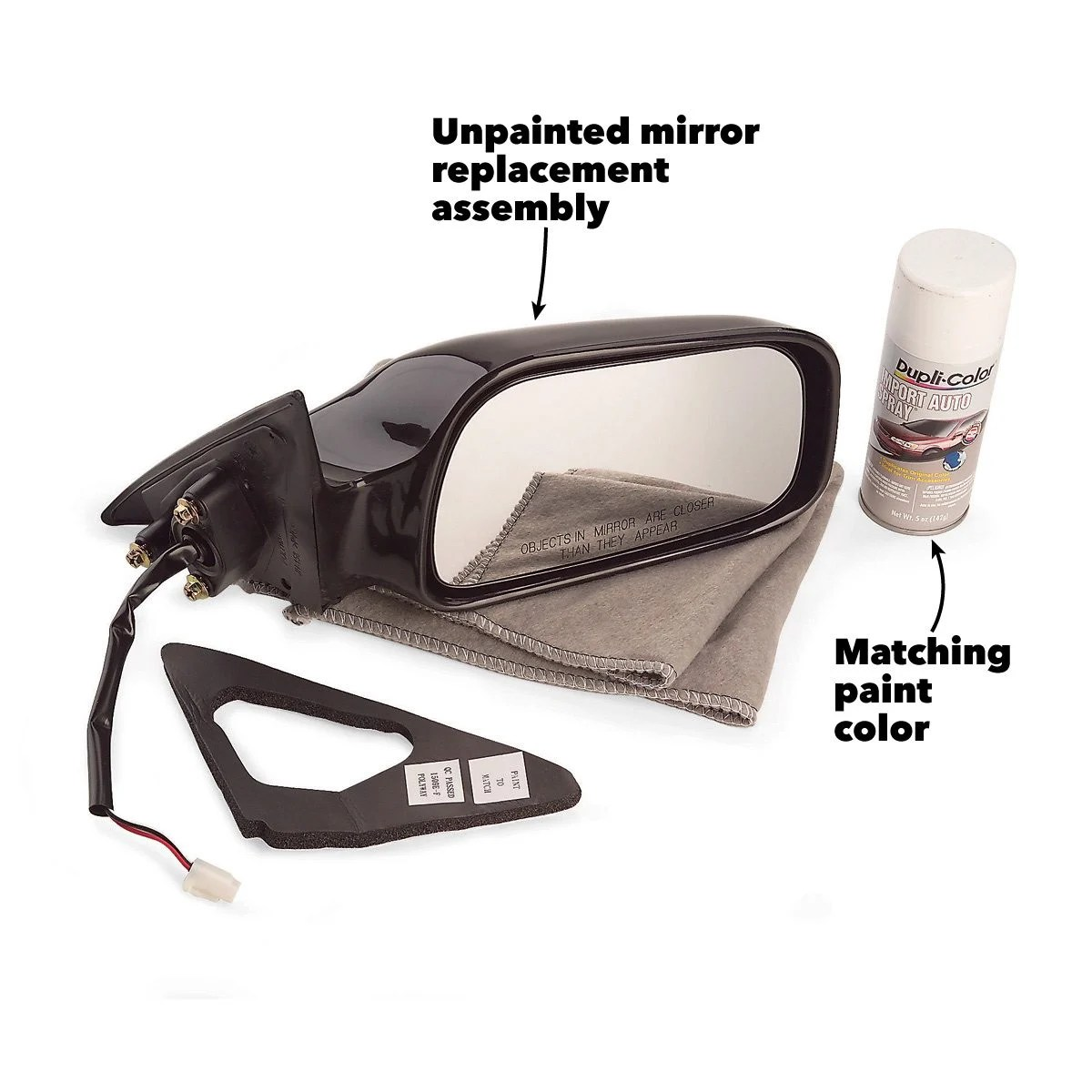 hight resolution of replace side mirror