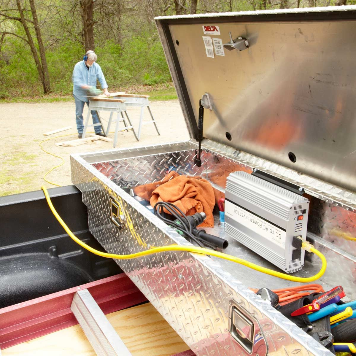 Auxiliary Lighting Wiring Diagram How To Turn Your Truck Into A Generator The Family Handyman
