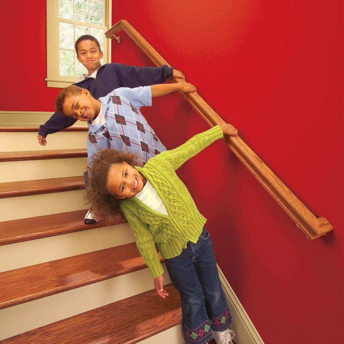 Install A New Stair Handrail | Wall To Floor Handrail | Glass | Paint Colors | Staircase | Wrought Iron | Concrete