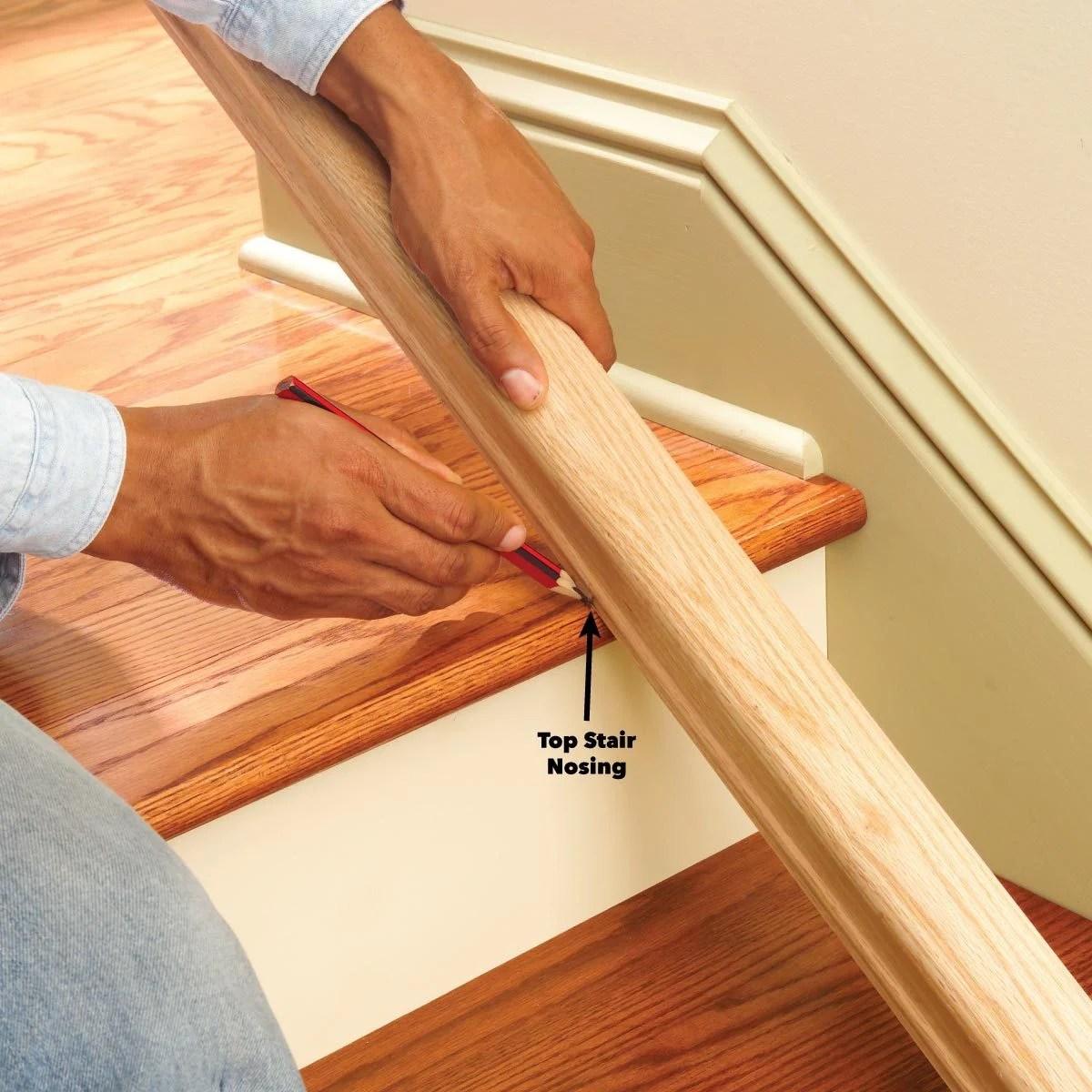 Install A New Stair Handrail | Split Level Stair Railing | Wrought Iron | Julia | Modern | Easy Diy | Fancy