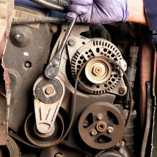 small resolution of check for smooth rotation with a serpentine belt tool