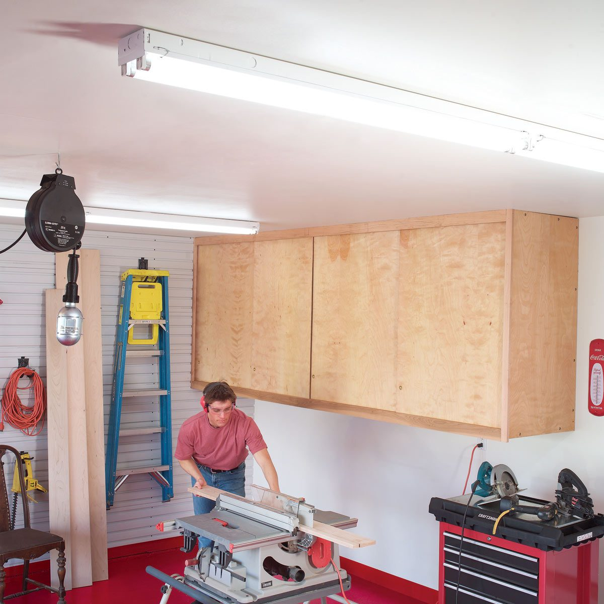 hight resolution of fh03sep 03077 003 1200 garage lighting family handyman
