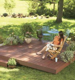 ground level deck [ 1200 x 1200 Pixel ]