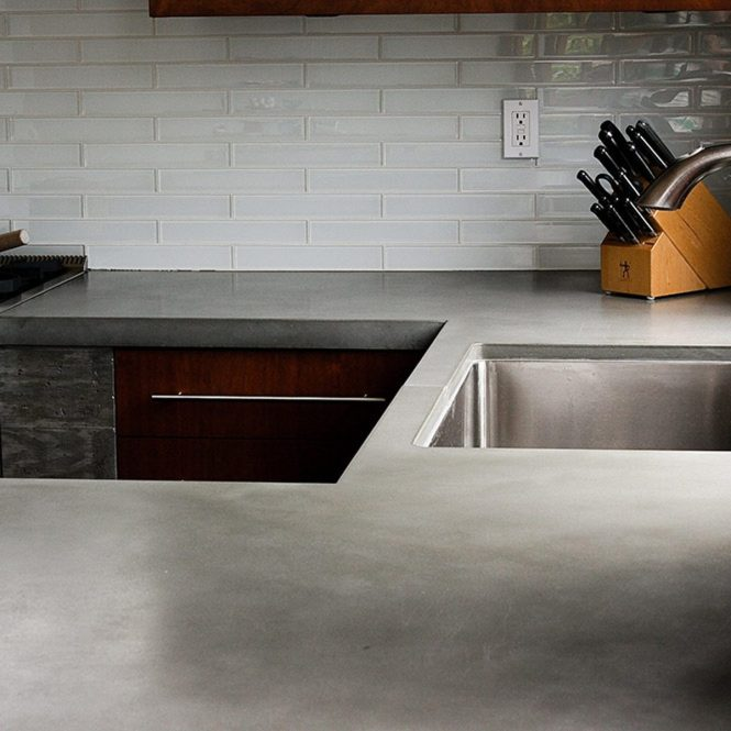 15 Concrete Countertops We Think Are