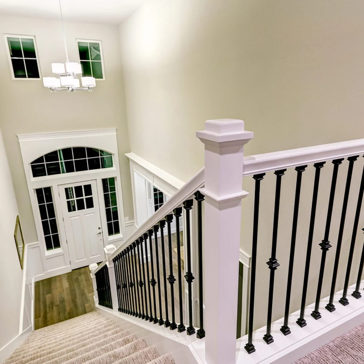 10 Ways To Freshen Up Outdated Banisters Family Handyman | Wood Handrail With Iron Balusters | Ash Gray | Ole Iron | Upstairs | Wrought Iron | Low Profile
