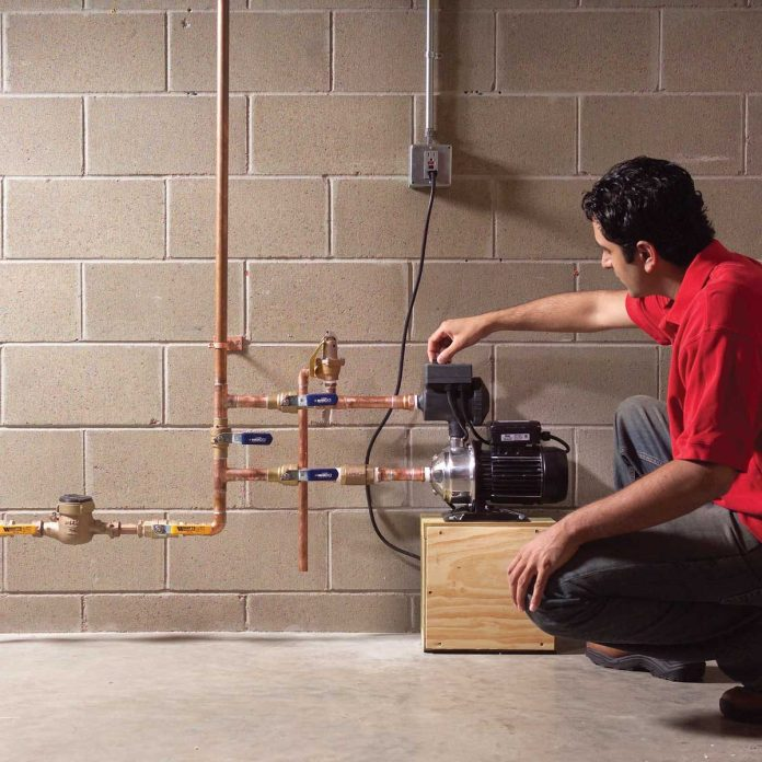 how to increase water pressure in your