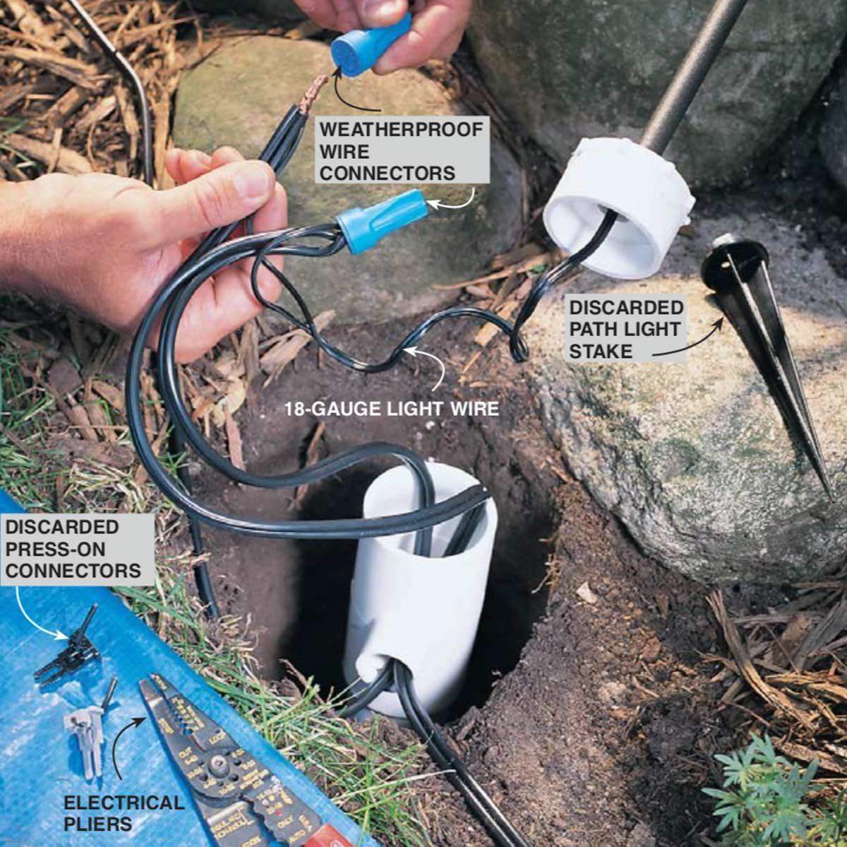 Outdoor Low Voltage Lighting Diy Family Handyman