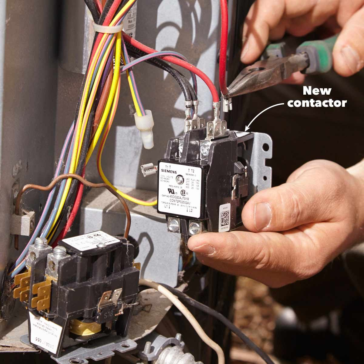 How To Change Ac Capacitor