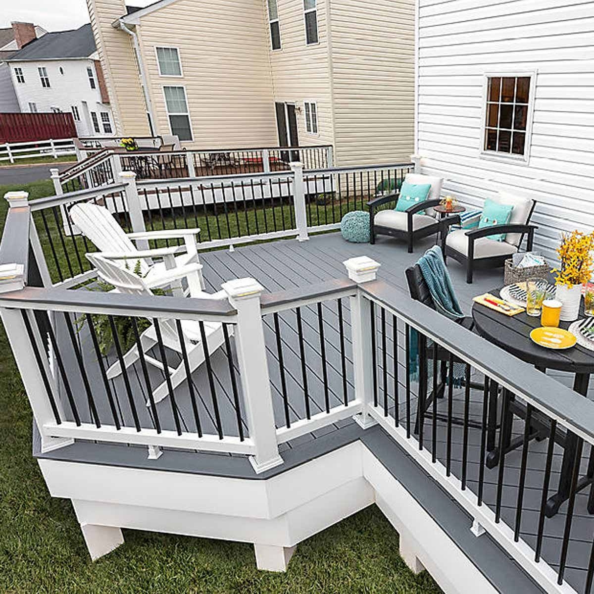 How To Calculate Trex Decking Cost For Your Project | Cost To Refinish Handrail | Hardwood Stairs | Wrought Iron | Interior | Stair Treads | Refinishing Hardwood Floors