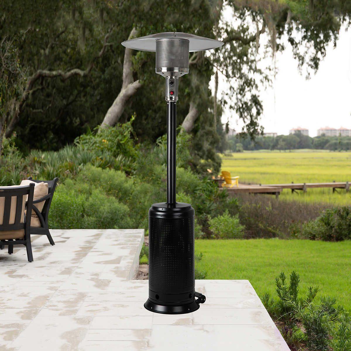 propane patio heater usage and